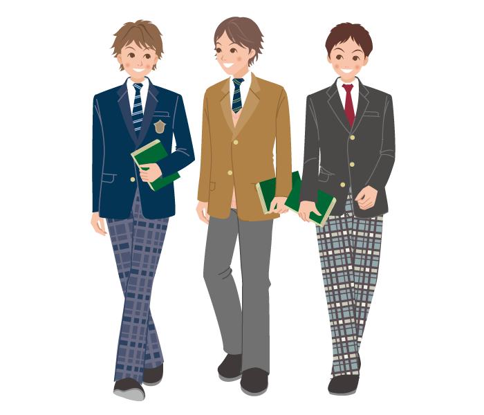 男子 高校生 制服