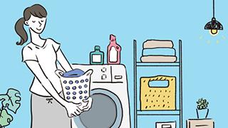 ご家庭でのお洗濯方法